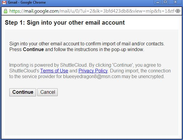 google contacts gmail