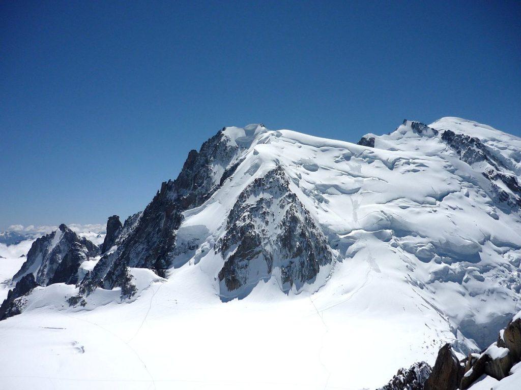 mont blanc aiguille du midi
